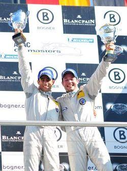 ADAC GT Masters Race 1 - The 2011 Champions Dino Lunardi and Alexandros Margaritis