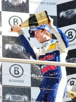 René Rast celebrating