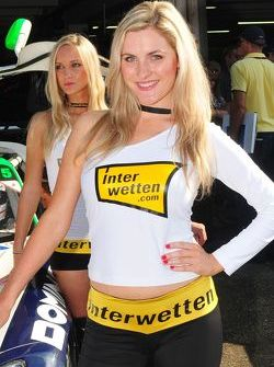 Lovely Heico Motorsports Girl