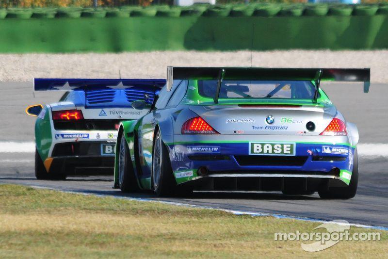 ADAC GT Masters Race 2 - Lunardi / Margaritis  chasing Stuck / Stuck for the lead