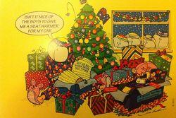 Mark Webber Christmas Card