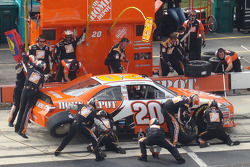 Home Depot pit action