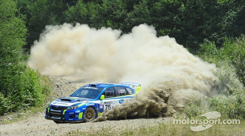 Subaru New England Rally