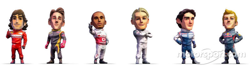 F1 Characters
