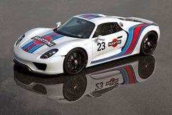 Porsche 918 Martini Sponsors Colors