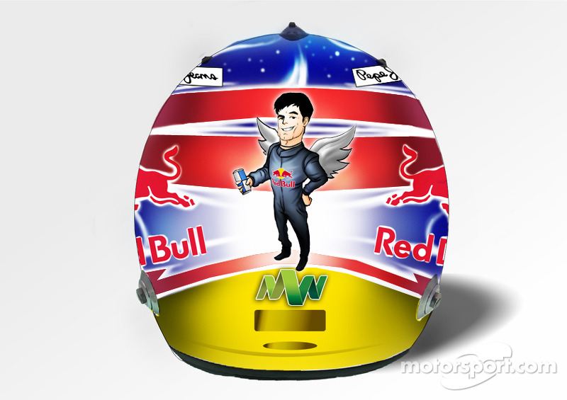 Mark Webber Helmet Design Singapore