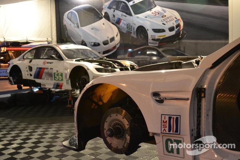 BMW Team RLL paddock at the BGP