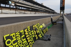 Pit signs - Indy 500