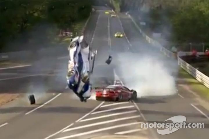 Anthony Davidson crash at Le Mans 2012