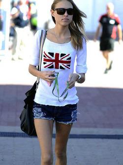 My dream: Fernando's girlfriend Dasha Kapustina