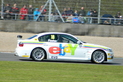 Nick Foster in one of the ebay motors BMWs