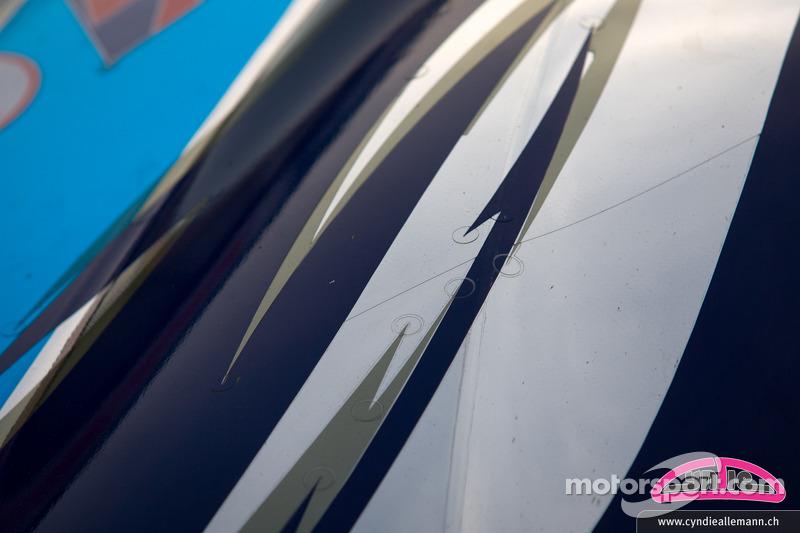 Audi R8 LMS Super GT car of Cyndie Allemann