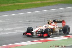 Dani Clost HRT F1 Team