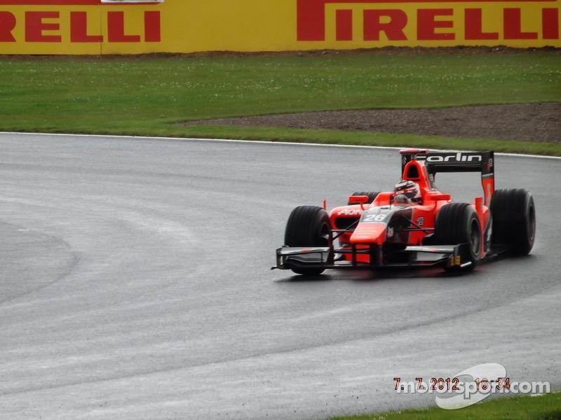 Max Chilton Marussia Carlin GP2