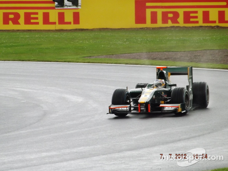 Rodolfo Gonzalez Catherham GP2 Team