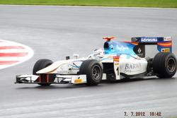 Johnny Cecotto Barwa Addax GP2 Team