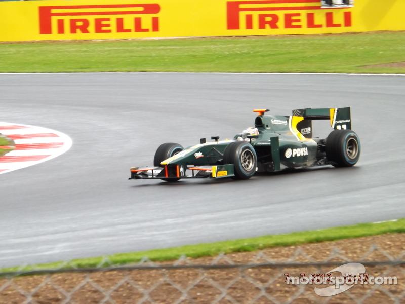 Rodolfo Gonzalez Caterham GP2 Team