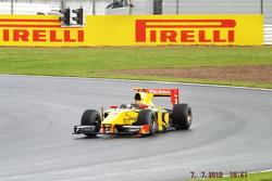 Davide Valsecchi DAMS GP2 Team