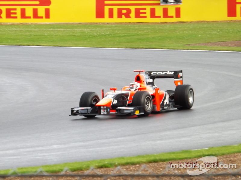 Max Chilton Marussia Carlin GP2 Team