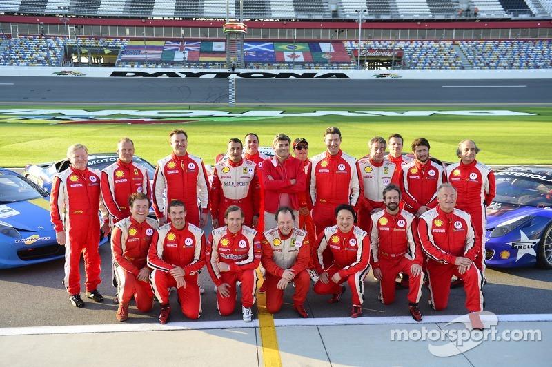 Ferrari Challenge Drivers