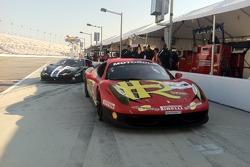 AGM Ferrari's on Pit Lane