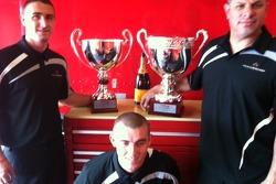 Dave Cameron, Don Cameron & Dave Cortes - Trophy shot