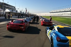 A fast grid from front to back.