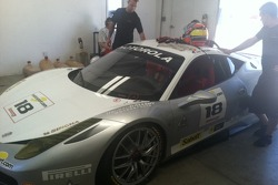 Jim Weiland Ferrari Challenge 458 Italia GT