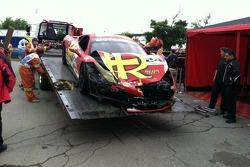 Carlos Kauffmann's car after race #1