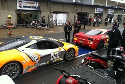 Auto Gallery Motorsports pit stop