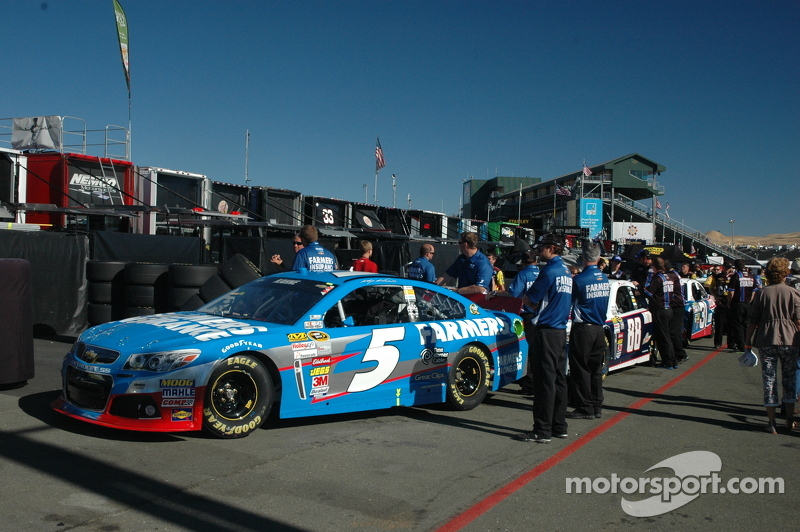 Kasey Kahne's #5 Farmer's Insurance Sponsored Chevrolet