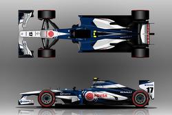 Williams FW35 alternative livery