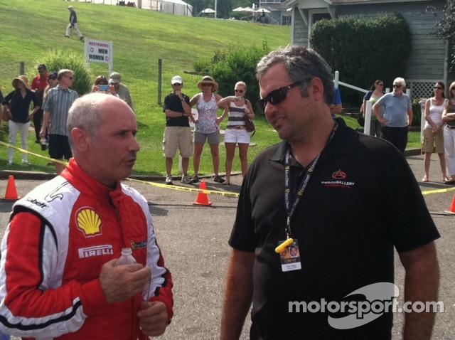 John Farano & Auto Gallery Motorsports Team Principal Ryan Negri