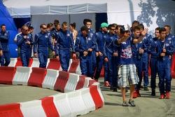 Drivers Red Bull Kart Fight