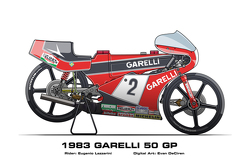 Garelli 50 GP - 1983 Eugenio Lazzarini