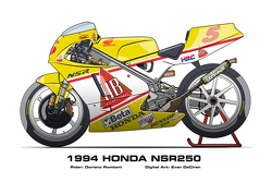 Honda NSR250 - 1994 Doriano Romboni