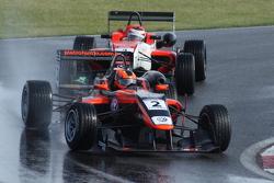 Pietro Fantin (Carlin) leads Pipo Derani (Fortec) through Murrays.