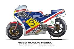 Honda NS500 - 1983 Freddie Spencer