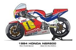 Honda NSR500 - 1984 Freddie Spencer