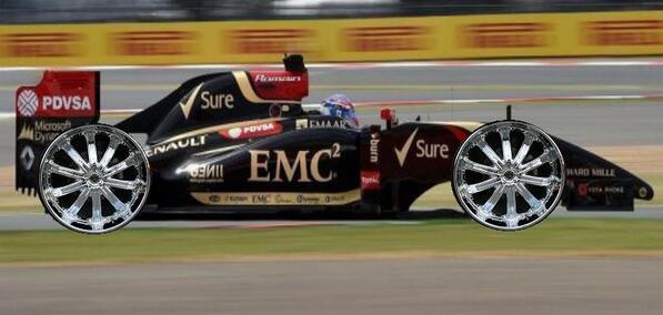 Pirelli F1 setup for Brooklyn