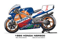 Honda NSR500 - 1995 Michael Doohan