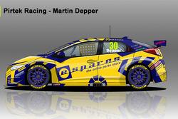 Pirtek Racing Honda Civic BTCC 2014 - #30