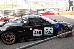 Lotus in the pit lane
