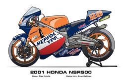 Honda NSR500 – 2001 Alex Criville