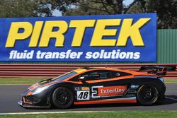Sandown top qualifier David Russell/Justin McMillan Interlloy Gallardo FL2 GT3