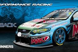 nickmossdesign.com - 2014 Supercheap Auto Bathurst 1000 Winners Pepsi Max Crew FPR Car 6 Livery