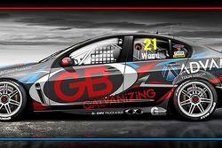 nickmossdesign.com - 2014 Team ADVAM/GB V8SC Dale Wood / Chris Pither Livery Design