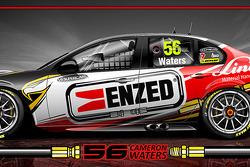 nickmossdesign.com - 2014 FPR/ENZED/LINDE V8SC Dunlop Series Livery Design