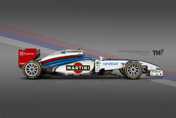 Williams Martini F1 Concept