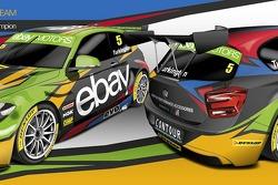 nickmossdesign.com - 2014 BTCC Champions ebay motors racing